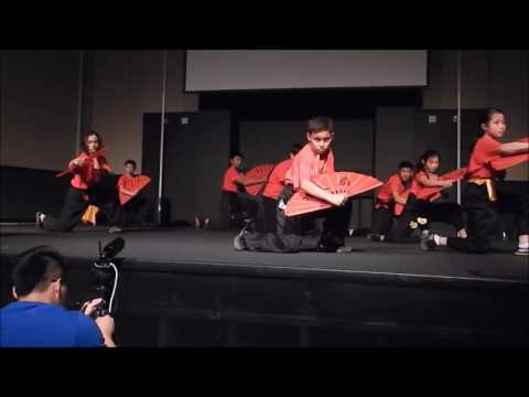 2017Shaolin Kung Fu Chan Academy microsoft performance