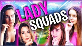 Solid Gold Girl Squads ft. KittyPlays, OneShotGURL & Loserfruit | Fortnite Battle Royale