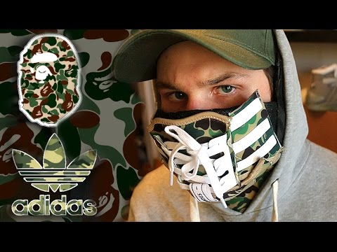 Making The Ultimate Adidas Bape Nmd Sneaker Mask Youtube