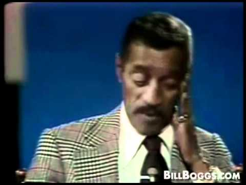Sammy Davis Jr Interview with Bill Boggs