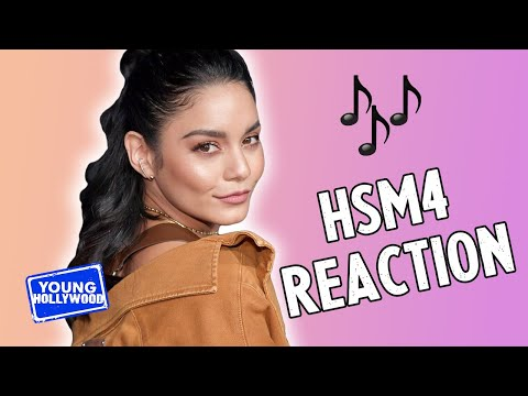 Vanessa Hudgens Reacts to High School Musical 4!?