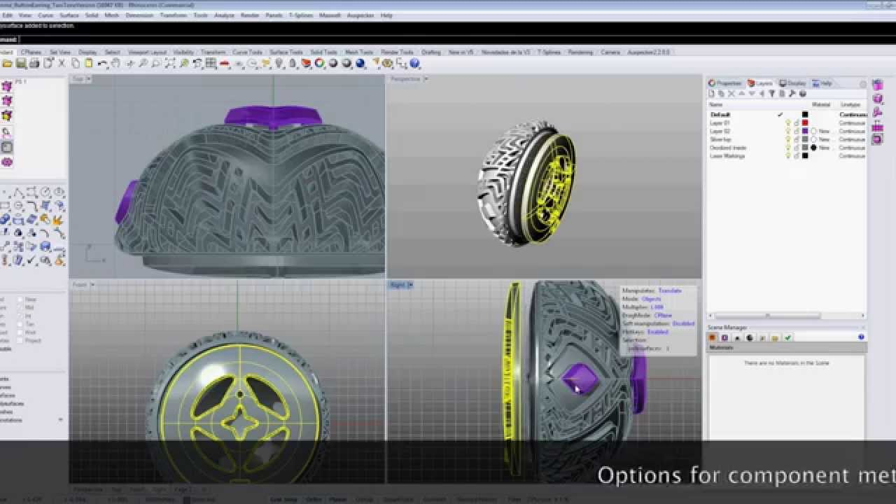modeling video software 3d rhino blender design jewelry virtual