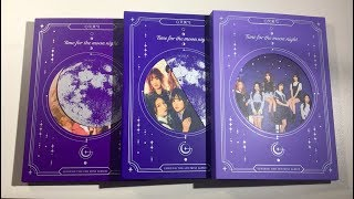 Gambar cover ♡Unboxing GFRIEND 여자친구 6th Mini Album Time For The Moon Night 밤 (Time, Moon & Night Ver.)♡