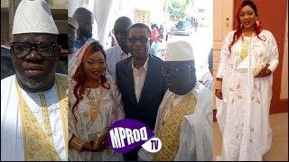 BAPTEME DE NDOYE BANE: IL DONNE LE NOM DE SON FILS A SERIGNE BASS ABDOU KHADRE TOUREDO