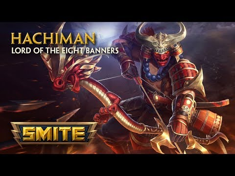 SMITE - God Reveal - Hachiman, Lord of the Eight Banners