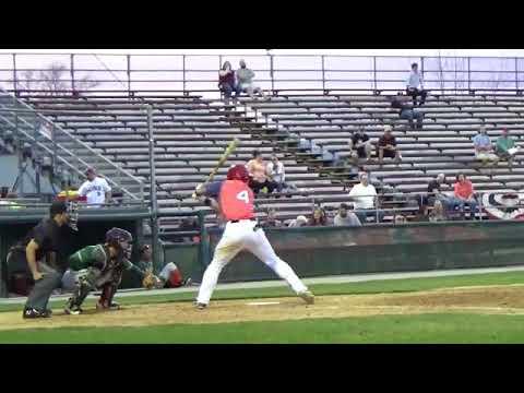 Nick Banks (April 13-18, 2018) vs. Greensboro/Delmarva (Hagerstown, MD)