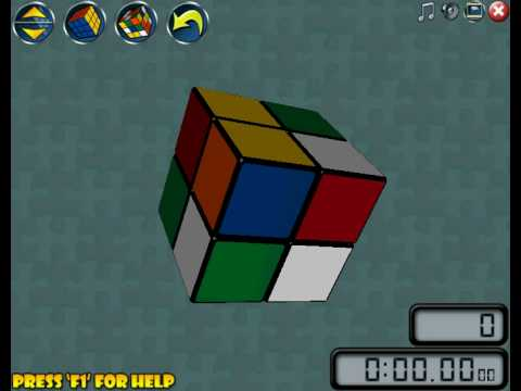 how to solve a rubix cube 2x2 video