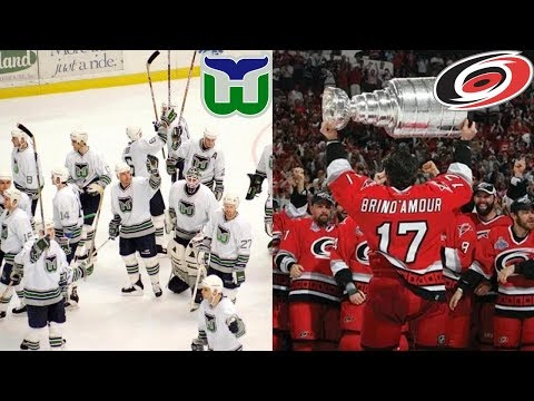 Hartford Whalers And Carolina Hurricanes Playoff Overtime Goals (Up Until 2018)