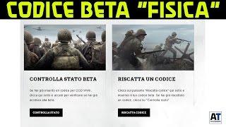 (GUIDA) COME AVERE CODICE BETA PREORDER NEGOZIO FISICO COD WWII (WW2) ITA by amantecnologia