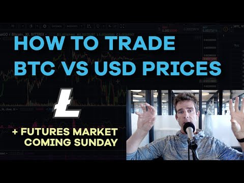 How To Trade BTC Value vs USD Value Explained - BTC Retracement, LTC Pump, Futures - CMTV Ep102