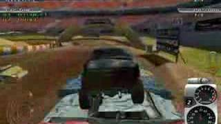 Tough Trucks Game. Digger Racing