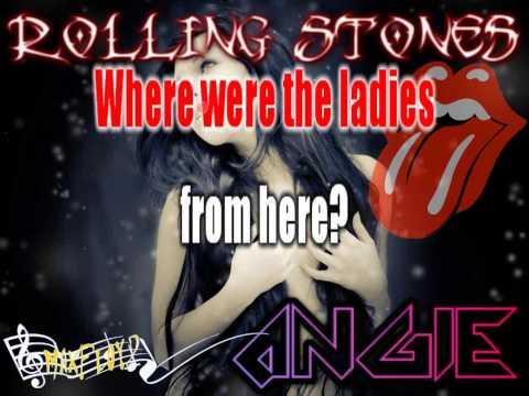 Rolling Stones - Angie (karaoke)