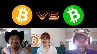 Bitcoin Cash vs. Bitcoin