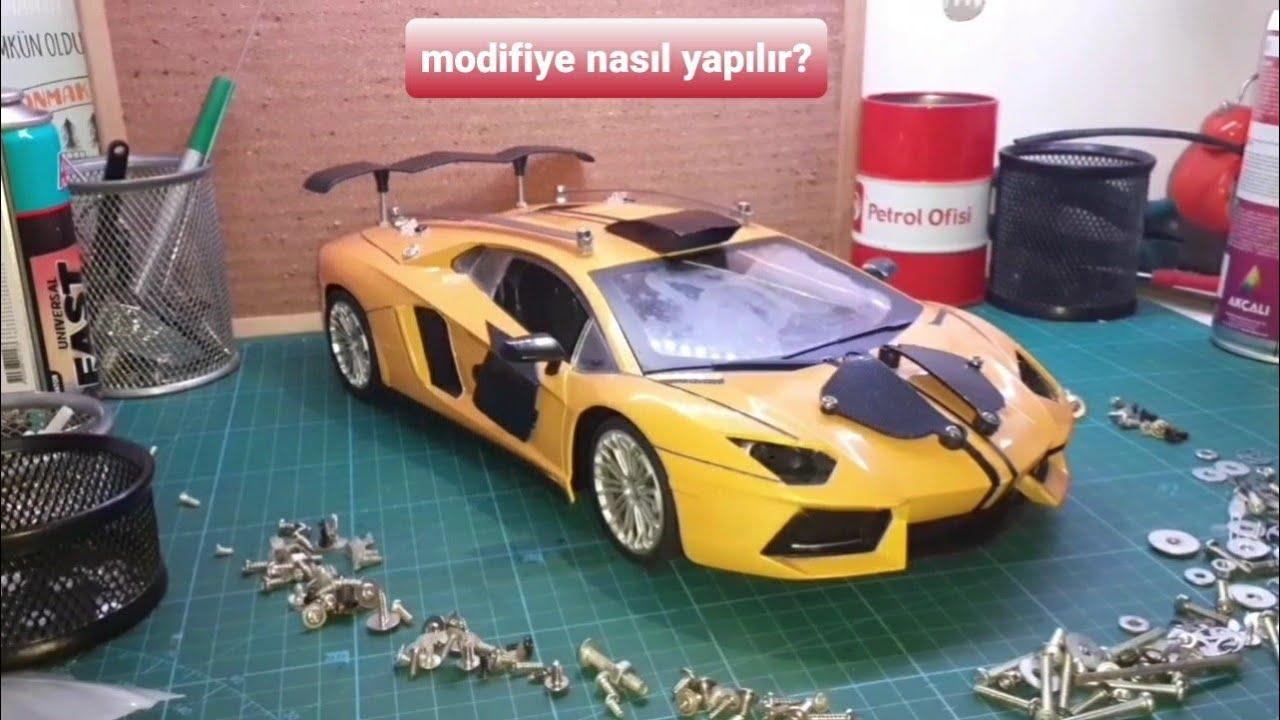 Oyuncak araba nasıl modifiye edilir? Oyuncak araba modifiye Toy car modified