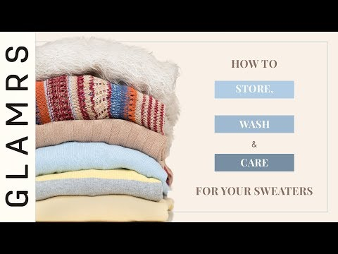 How To Wash, Dry, Store & Care For Your Sweaters