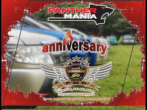 Aniversary Ke-1 Panther Mania Riau 2018, Nenda Dan Rencengan Bareng Garuda Outbond Pekanbaru