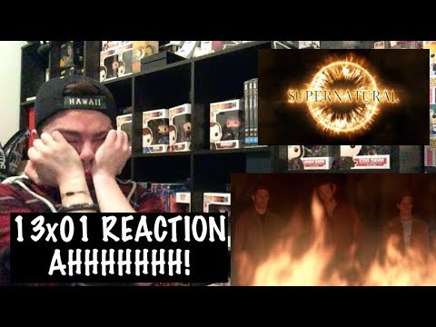 SUPERNATURAL - 13x01 'LOST AND FOUND' REACTION