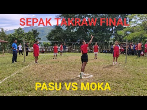 WOMAN SEPAK TAKRAW|FINAL| PASU Vs MOKA|KSU SPORTS MEET 2019