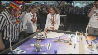 Three Georgia Teams Compete in FIRST LEGO League's Into Orbit international competition