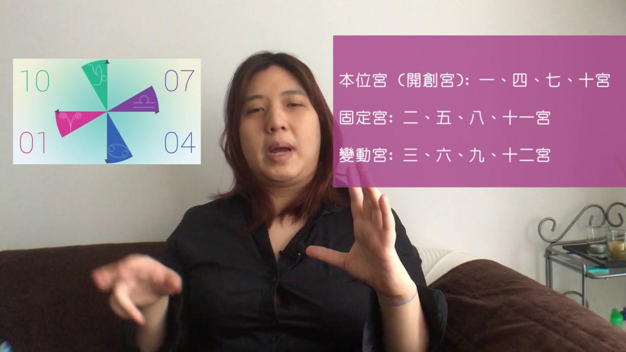 如何解讀星座命盤十二宮 | 占星心理學 - YouTube