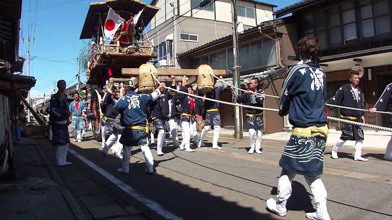 瀬波大祭(2013年)・浜町おしゃ...