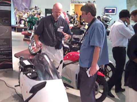 TTXGP Electric Motorcycles at AMA Museum