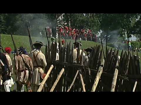 Old Fort Niagara - French and Indian War 2009 - British Assault the Fort