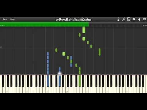 Vocaloid - ECHO (Piano) [Synthesia]