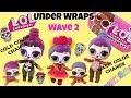 LOL Surprise Under Wraps Wave 2 Series 4 Unboxing More Gold! Bebe Bonita Weight Hacks Kids Toys