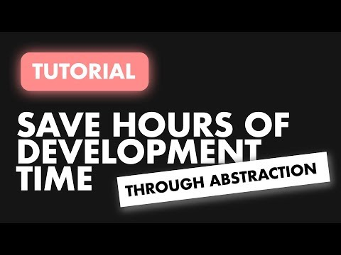 Save hours of Development time through Abstraction | Flutter Abstraction thumbnail
