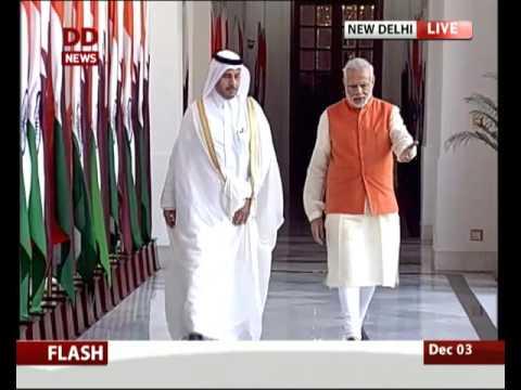 Qatari PM holds discussion with PM Modi
