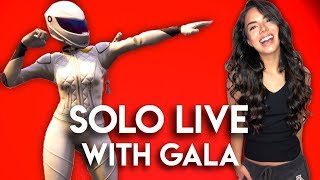 *Solo Gameplay Live with Gala!* Fortnite Battle Royale! // 745 Wins // PS4 Console 🗯️