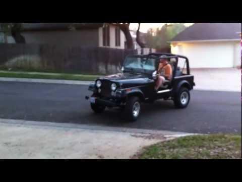1984 Full Electric Jeep CJ7 EV Maiden Voyage