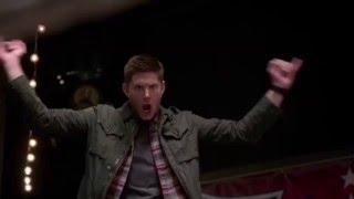 "SUPERNATURAL 11X15 ""Beyond the Mat"" - Dean Funny Scene"