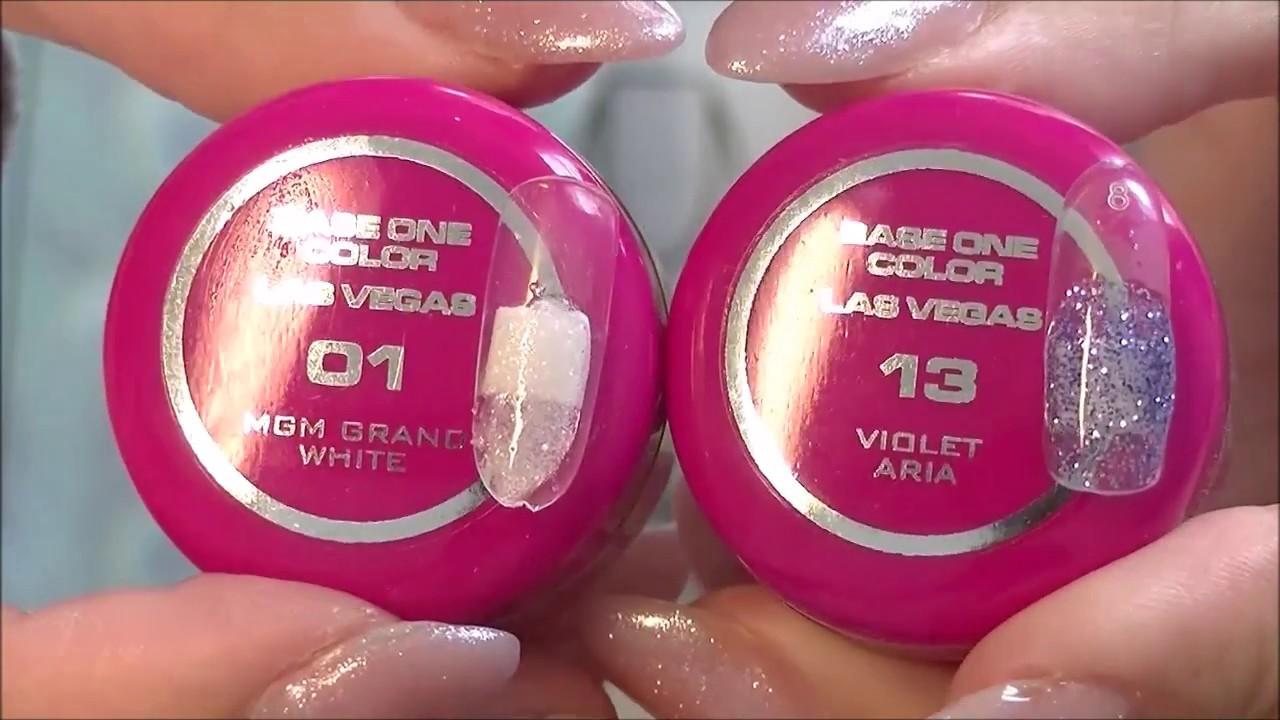 Гель для наращивания ногтей silcare Польша на разлив - YouTube