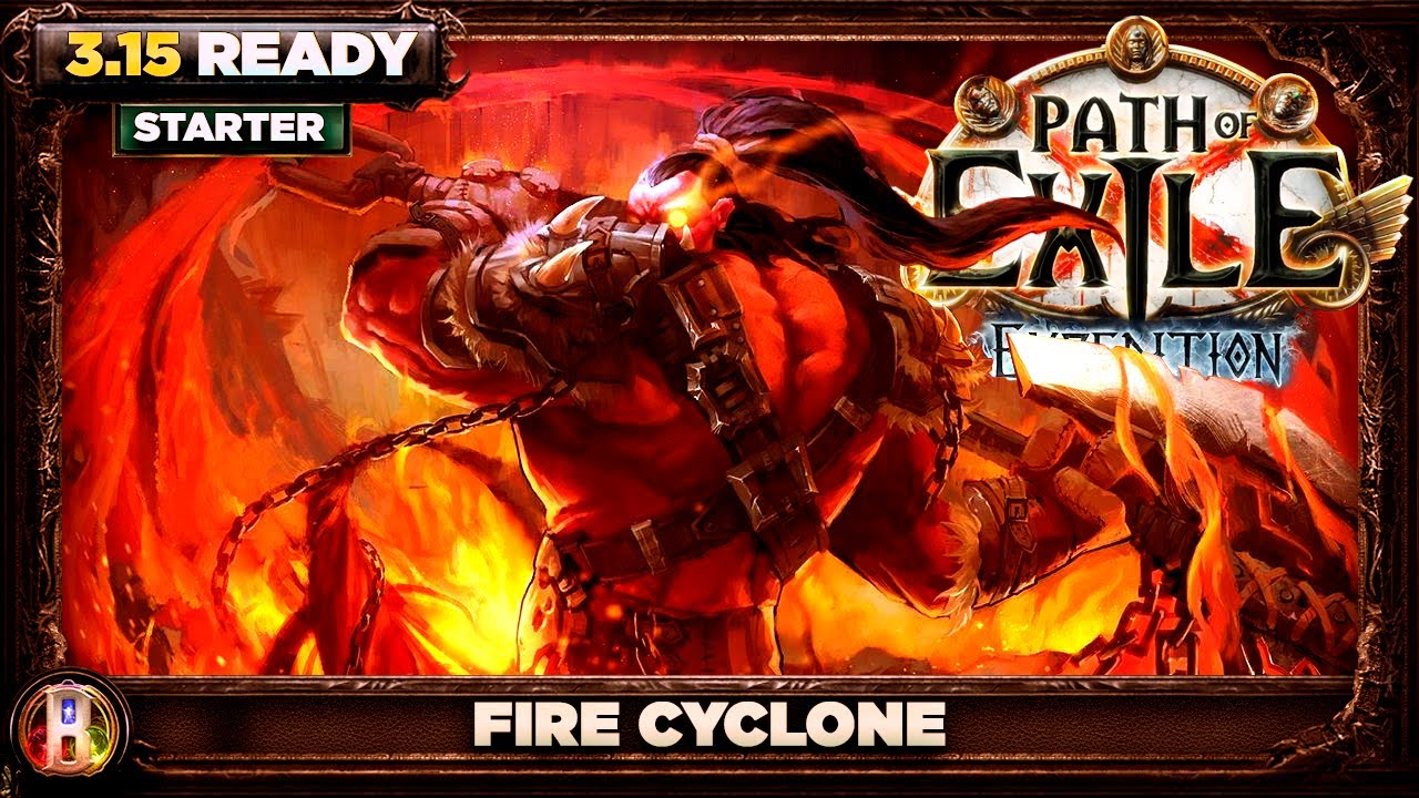 Download Path of Exile 3.15 - Fire Cyclone Build - Chieftain Marauder - PoE Expedition - PoE 3.15