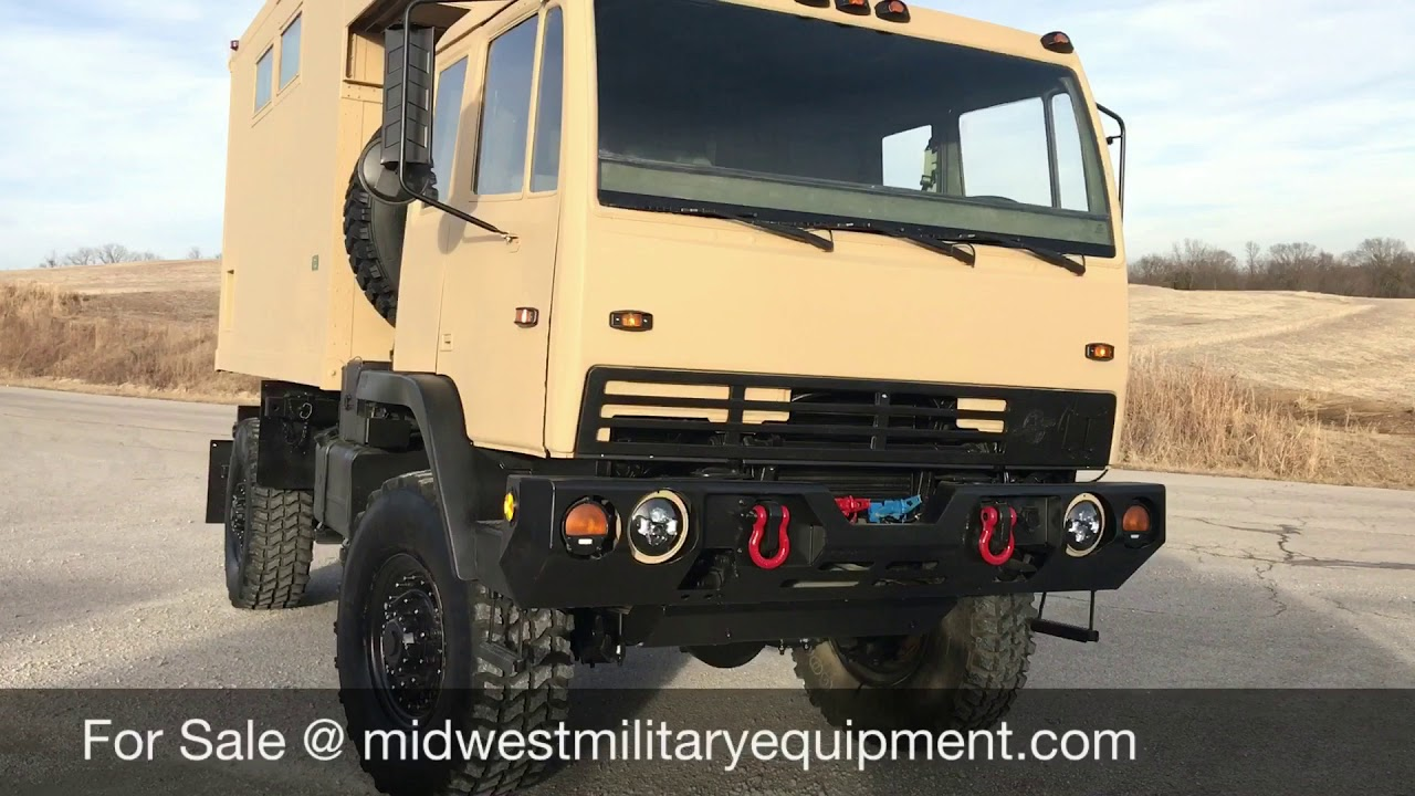Stewart & Stevenson M1079 2 1/2 Ton Camper Truck
