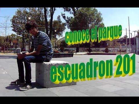 """Conoce el parque """"escuadrón 201"""" delegación iztapalapa CDMX"""