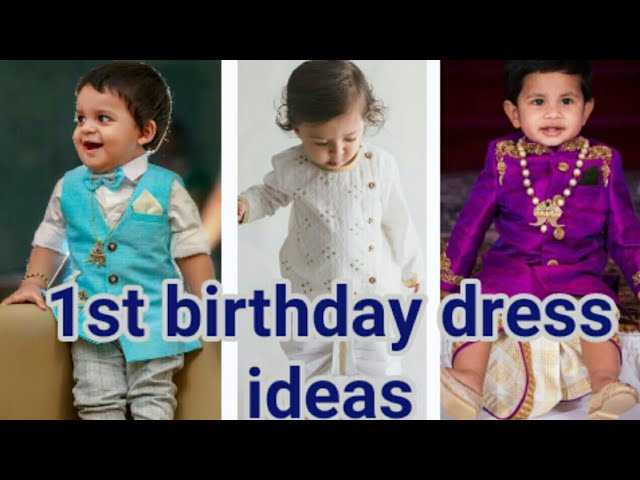 Baby Boy 1st Birthday Dress Baby Boy Party Wear Dresses Online Boys Very Stylish Outfit Youtube