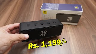 Tenor Rave+ (10.or rave plus) 10W portable Bluetooth 5.0 speaker for Rs. 1,199 Crafted for Amazon