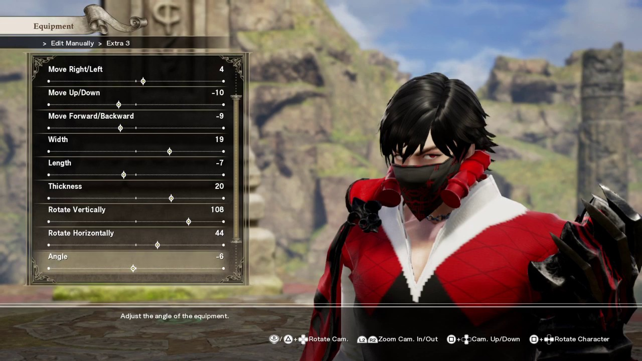 How to create Io from Code Vein in Soul Calibur 6 - YouTube
