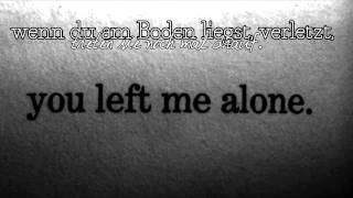 » Ich tat als wär ich stark genug.