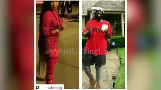#NickiMinajChallenge Nicki Minaj Challenge 2017 Clips