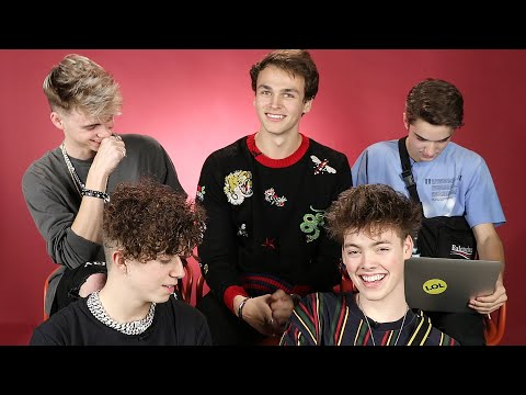 WHY DON'T WE Makes a Buzzfeed Quiz