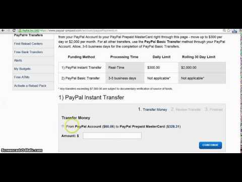 Transfer Cash From PayPal To Your Hands INSTANTLY! (No More Waiting 3-5  days) mp4