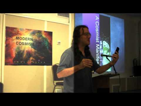 Ben Goertzel Talk on Modern Cosmism Conference NYC 10/10/15