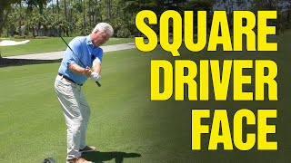 GOLF: How to Sqขare the Club Face on a Driver (DO THIS!)