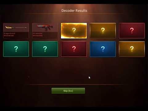 CSNZ - New Decoder Opening System 【7】