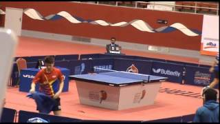 Pletea Cristian (ROU) VS Sipos Rares (ROU) - (Junior FINAL) 7-2-2015