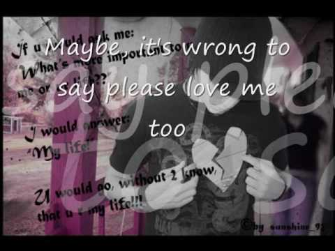 maybe- king with lyrics (song interpretation)